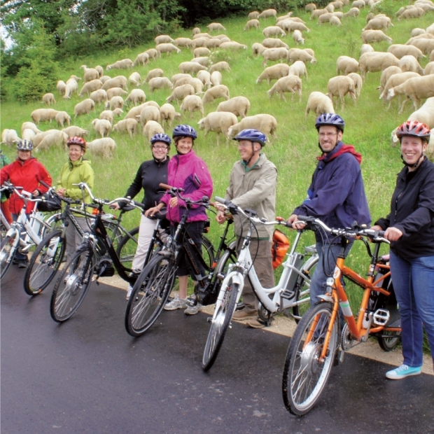 24 Guided E-Bike tours – Radkutsche