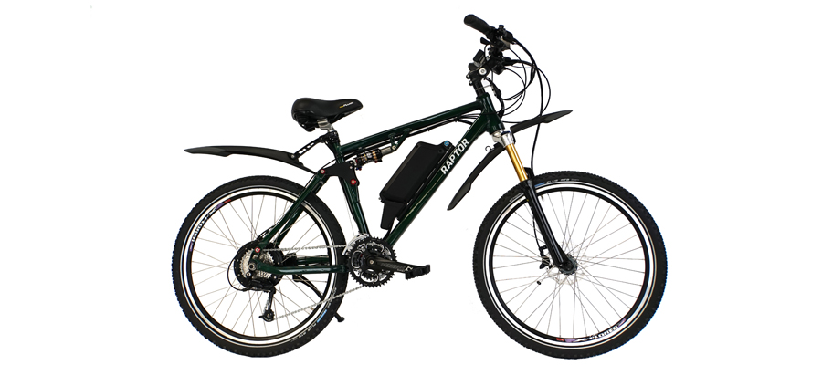 Raptor Full Suspension Electric Bike