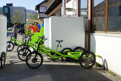 Radkutsche Cargo bikes, powered by eZee.