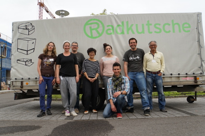 SPEZI 2015 - Radkutsche with eZee Team